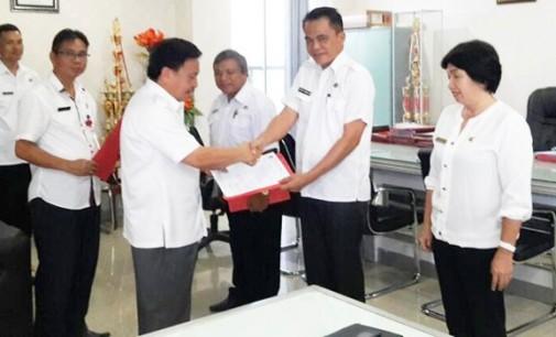 Vecky Monigir Dipercayakan Bupati James Sumendap Nahkodai DKP Mitra