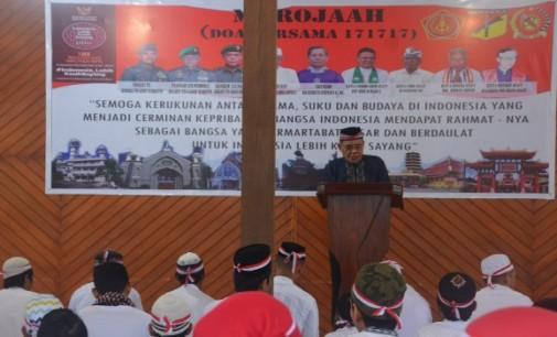 Korem 131/Santiago Laksanakan 171717, Doa Bersama Untuk Indonesia