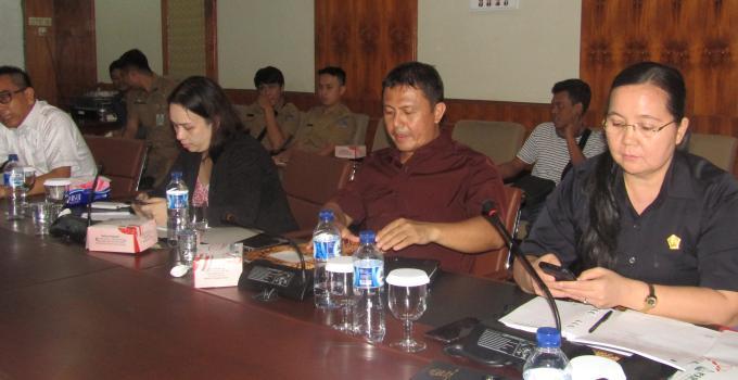 Komisi 1 rapat bersama Biro Protokol KKP