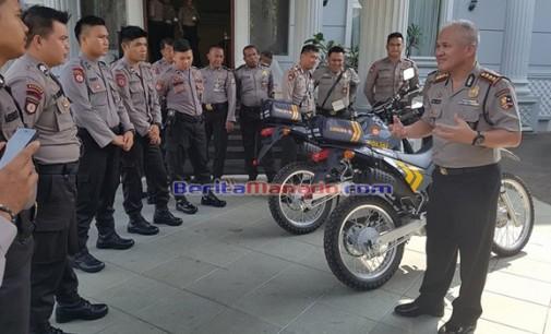 Mabes Polri Gelar Pelatihan dan Perawatan Sepeda Motor Patroli
