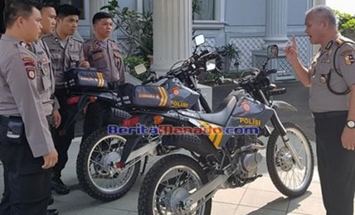 ARIDAN ROEROE: Identitas Sepeda Motor Patroli Jangan Dirubah