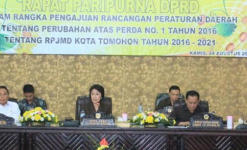 Penerapan Perda Perubahan APBD Kota Tomohon Tahun 2017 Diharapkan Efektif