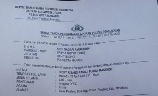 Merasa Dihina, Anggota DPRD Minahasa Tempuh Jalur Hukum