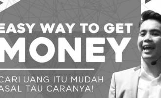 Hadiri Seminar Easy Way To Get Money, Terdahsyat Kolaborasi Dua pengusaha Muda Terfavorit dan Inspiratif