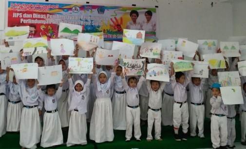 JIPS dan Pemprov Gelar Lomba Menggambar Untuk Anak