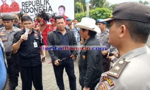 LSM Demo BPJN XV, Tuntut Pembayaran Tanah di Lembean