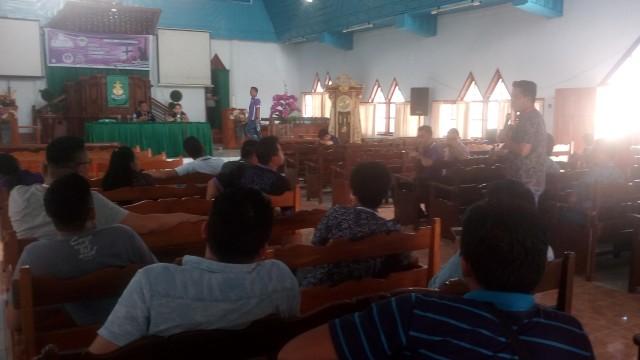 Situasi rapat bidang umum, dan rekomendasi Pemuda Sinode GMIM