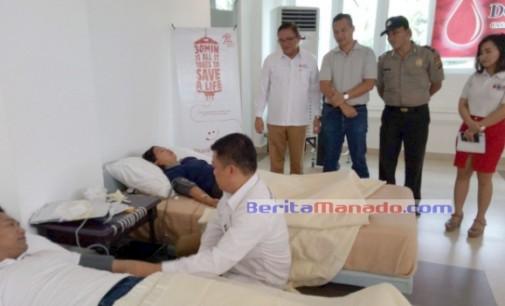 Gandeng UTD Minut, Casabaio Paradise Gelar Baksos Donor Darah
