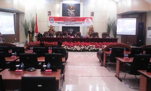 DPRD Manado Gelar Rapat Paripurna Dalam Rangka Mendengar Pidato Presiden RI