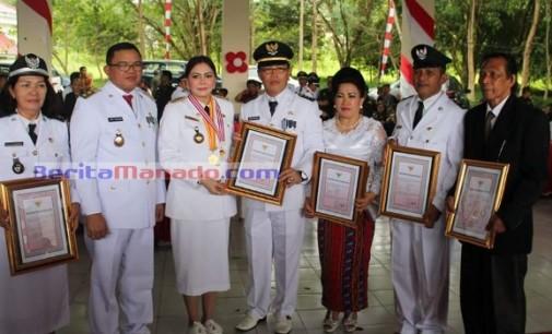 Mantap !!! 9 Desa di Kecamatan Talawaan Lunas Pajak 100%