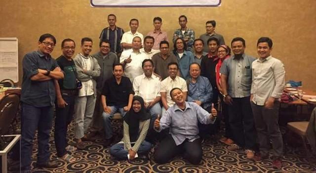 22 wartawan ikut ToE UKJ di Jakarta.(foto: AJI Indonesia)