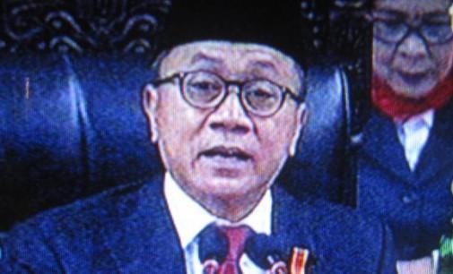 Sebut Piagam Jakarta Menjiwai UUD 1945, Ketua MPR: BUNG KARNO Pemimpin Terbesar Sepanjang Sejarah