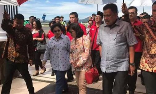Berita Foto I : MEGAWATI SOEKARNO PUTRI Membuka Rakerda PDIP Sulut
