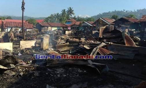 PSI Kotamobagu Bantu Korban Kebakaran di Gogagoman