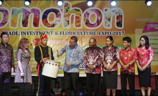 Eman Buka Pameran Pariwisata, Perdagangan, Investasi dan Florikultura 2017