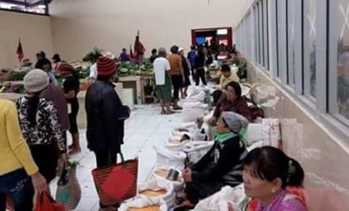 Pasar Kawangkoan Kini Lebih Nyaman