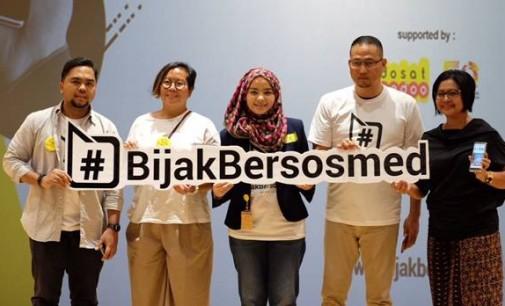 Peluncuran Gerakan #BijakBersosmed untuk Media Sosial Indonesia yang Lebih Baik