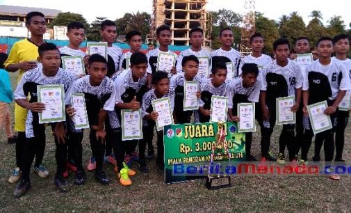 Semangat Kemerdekaan Dari Ujung Sulawesi Utara, Tetap Berprestasi di Sepakbola Meski Tak Didukung Pemerintah Sendiri