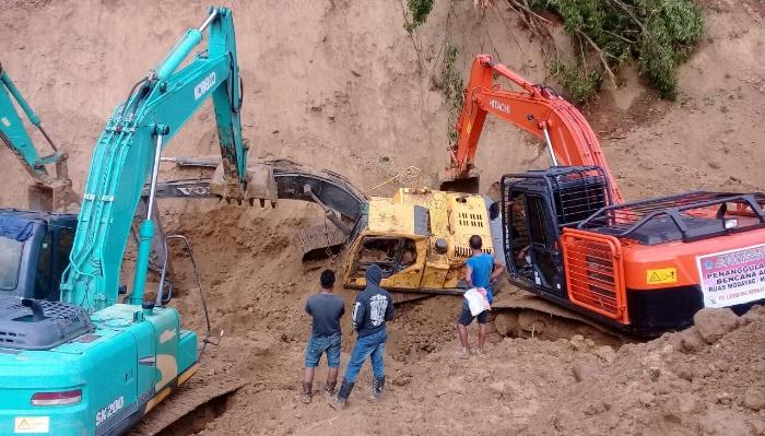 Tanah longsor di Modayag, Boltim