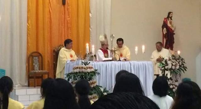 Perayaan Ekaristi Peringatan 138 Tahun Pembaptisan Pertama Paroki St Antonius Padua Tataaran