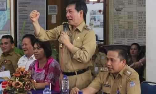 Tegas !!! ASN Wenang Malas Masuk Kantor, VICKY LUMENTUT Ingatkan Sanksi Pemecatan