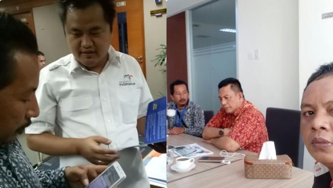 Perwakilan IWO Kota Bitung ketika konsultasi ke Kementerian Pariwisata dan Kementerian Kemaritiman
