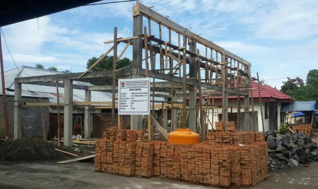 Pembangunan pasar tradisonal modern di Kecamatan Pusomaen
