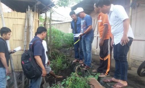 Tenaga Ahli Infrastruktur Desa Minsel Ukur Ulang Dandes Radey Tahun 2015 dan 2016