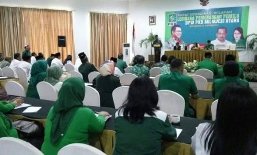 Jelang Pemilu 2019, PKB Sulut Rapatkan Barisan