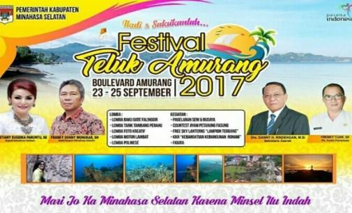 "Dispar Minsel Siap Gelar ""Festival Teluk Amurang 2017"""
