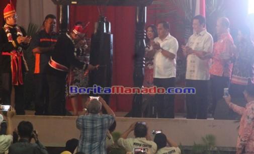 ARIEF BUDIMAN: Launching Tahapan Pilkada Minahasa Inspirasi Indonesia