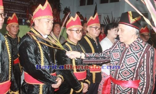 EDDY RUATA Pimpin Majelis Adat Kawangkoan