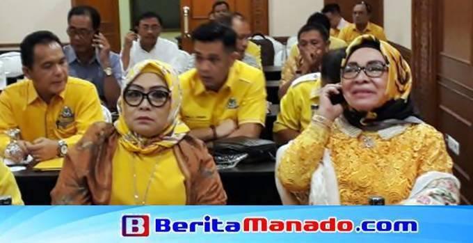 Marlina Moha Siahaan kepergok masih mengkuti rapat partai