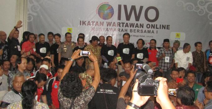 Kemeriahan Mubes IWO dihadiri banyak tokoh nasional