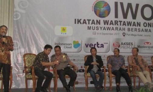 Wartawan Senior AGUS PARENGKUAN: IWO adalah Organisasi yang Mengguncang Indonesia