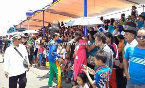 Meski Molor, Masyarakat Antusias Nantikan Karnaval Manado Fiesta
