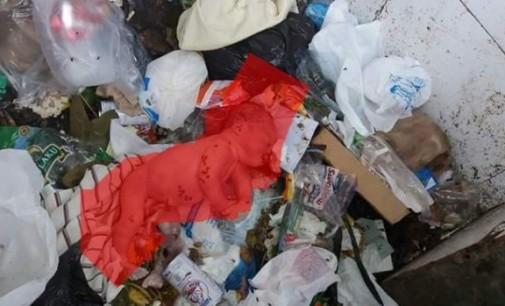Warga Pinokalan Temukan Bayi Laki-laki Diantara Tumpukan Sampah