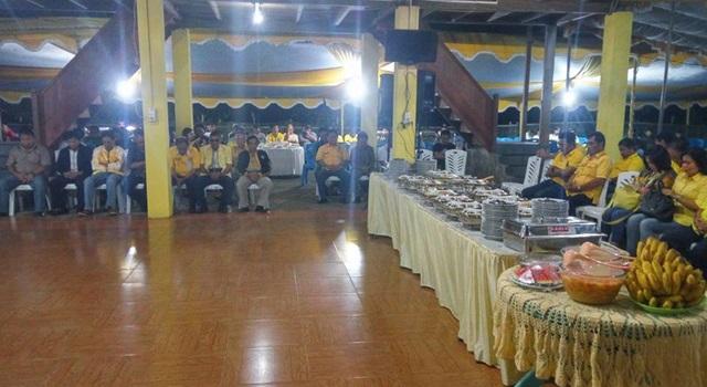 Ibadah Syukur di kediaman Stefanus Vreeke Runtu Tondano