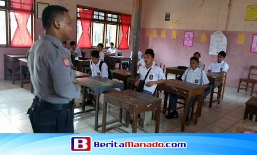 The Police Go To School di SMA Kristen Langowan