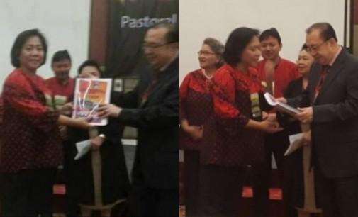 Isteri Wawali Terpilih Jadi Bendahara Gereja se-Indonesia