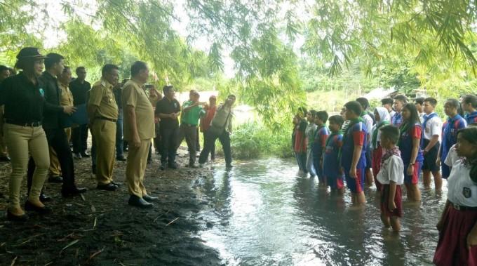 Pengukuhan sekolah sungai Kota Bitung