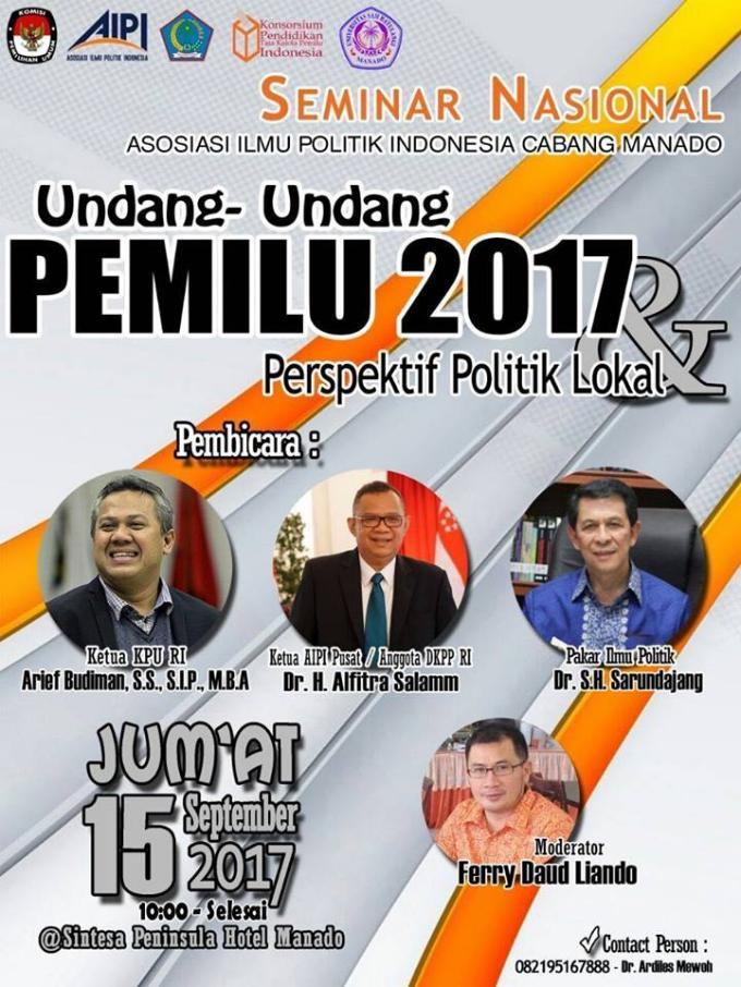 Seminar Nasional Undang-Undang Pemilu