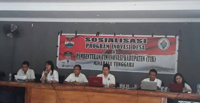 Sosialisasi penggunaan dana desa