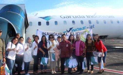 Garuda Indonesia Resmi Layani Rute Penerbangan Manado-Luwuk