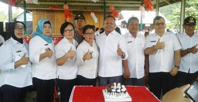 Perayaan HUT ke-14 Kecamatan Ratatotok
