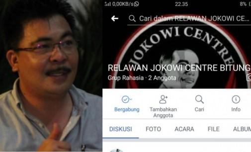 Relawan Jokowi Centre Resmi Hadir di Bitung