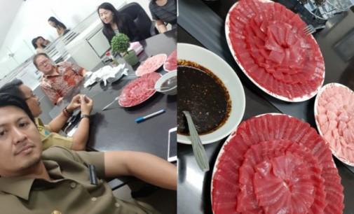 Mau Makan Makanan Jepang Gratis, Ayo Datang ke Pengucapan Bitung