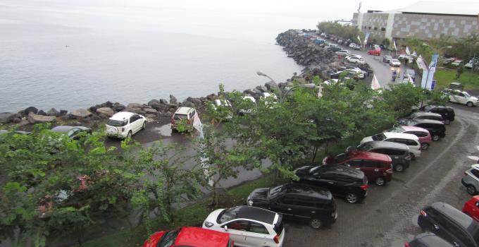 Ruas jalan di bagian dalam kawasan perdagangan Mantos bisa bangun Boulevard baru