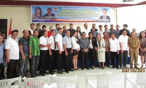 Fatek Unima Gelar Seminar dan Workshop Kurikulum, Menampilkan anggota DPD Stefa Liow dan Ketua LPJK sebagai Narasumber