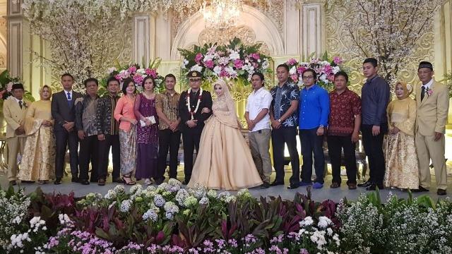 Pesta Pernikahan Kasat Reskrim Polres Minsel